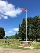 Cemetery Flagpole