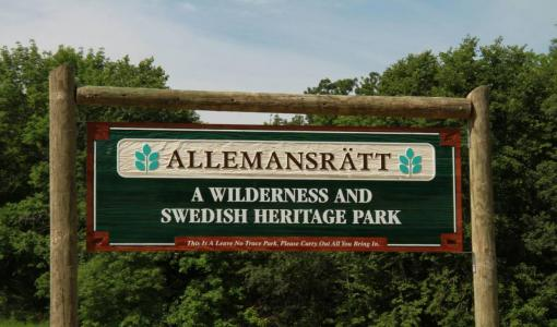 """Allemansrätt – A Wilderness and Swedish Heritage Park."""