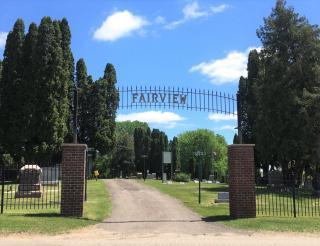 Cemetery- Main Gate