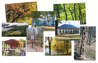 collage - parks