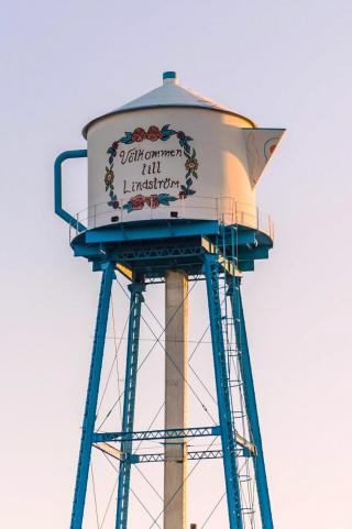 Lindstrom Coffee Pot Water Tower